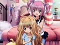 Amu,Rima - shugo-chara wallpaper