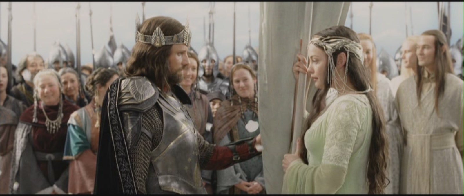 Le Seigneur des Anneaux / The Hobbit #4 Arwen-and-Aragorn-Lord-of-the-Rings-Return-of-the-King-aragorn-and-arwen-11683888-1600-677