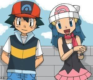 pokemon couples ash,misty,drew, and may - YouTube