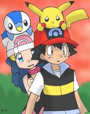 Ash Dawn Pokemon http://www.fanpop.com/clubs/legendary-pokemon/images/11691026/title/ash-dawn-fanart