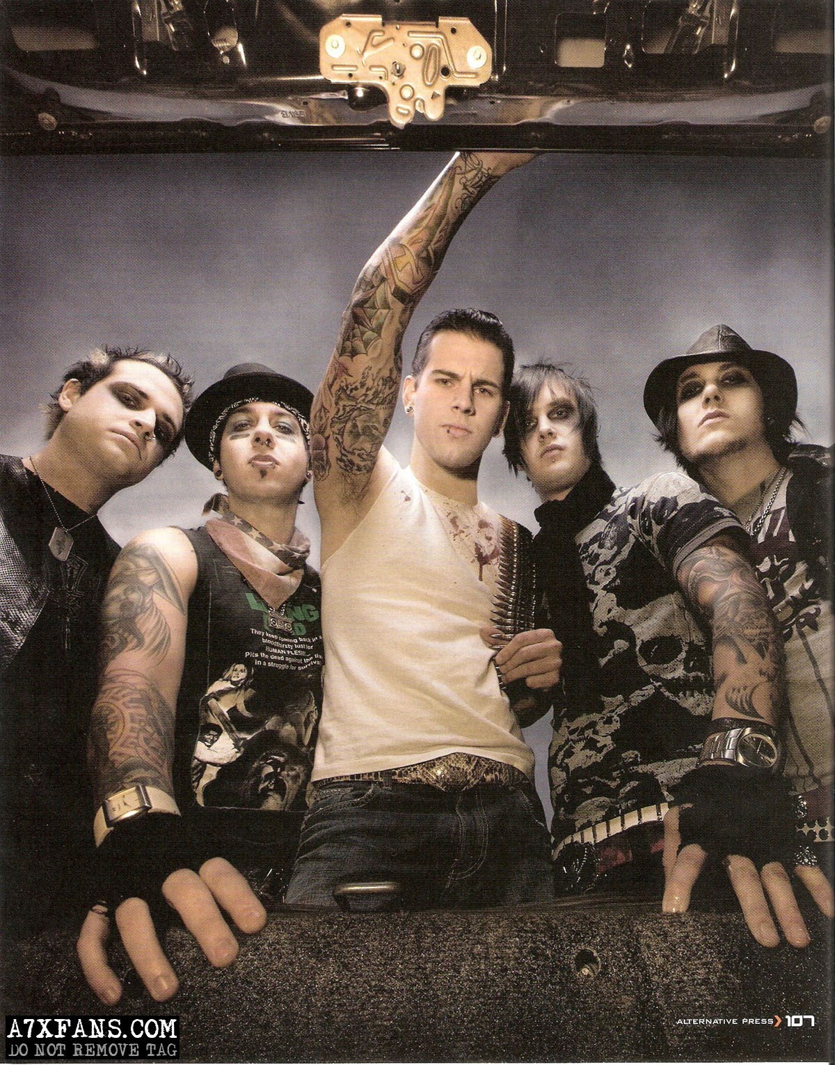 Avenged Sevenfold - Avenged Sevenfold Photo (11638691 ...