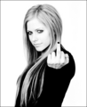Black and White Avril pics