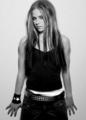 Black and White Avril pics