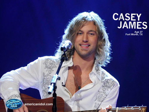 American Idol Hintergrund entitled Casey James