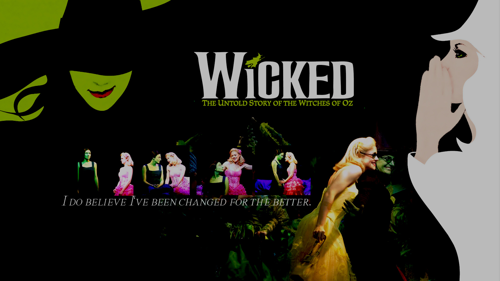 changed wicked wallpaper 11689314 fanpop