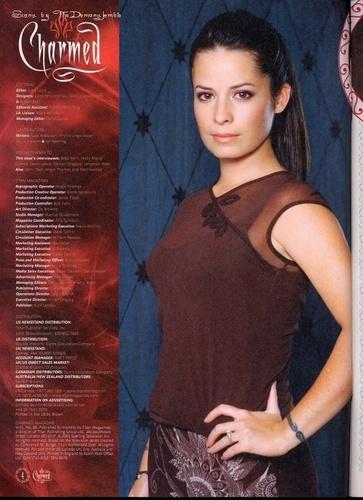 Charmed 8º magazine