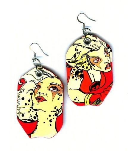 Cheetara Earrings!