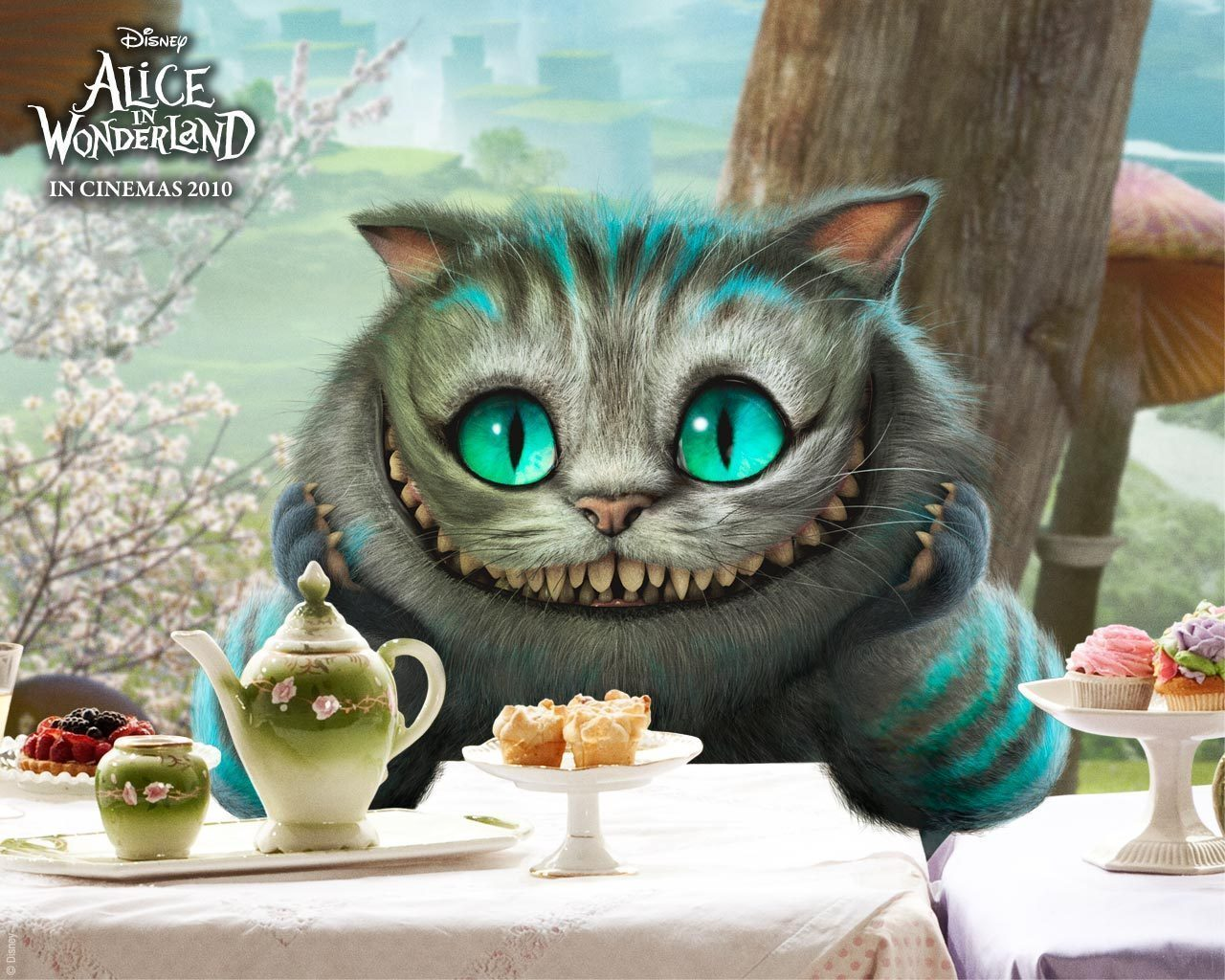 The cheshire cat cheshire cat