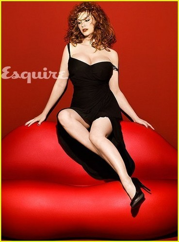 Christina Hendricks: арбуз Sexy