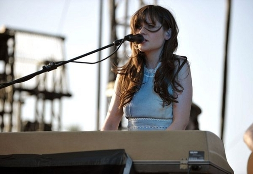 Coachella Valley âm nhạc & Arts Festival - She & Him performance