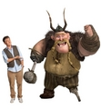 Craig as Gobber in 'How to Train Your Dragon'