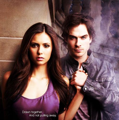 Damon And Elena Fanart