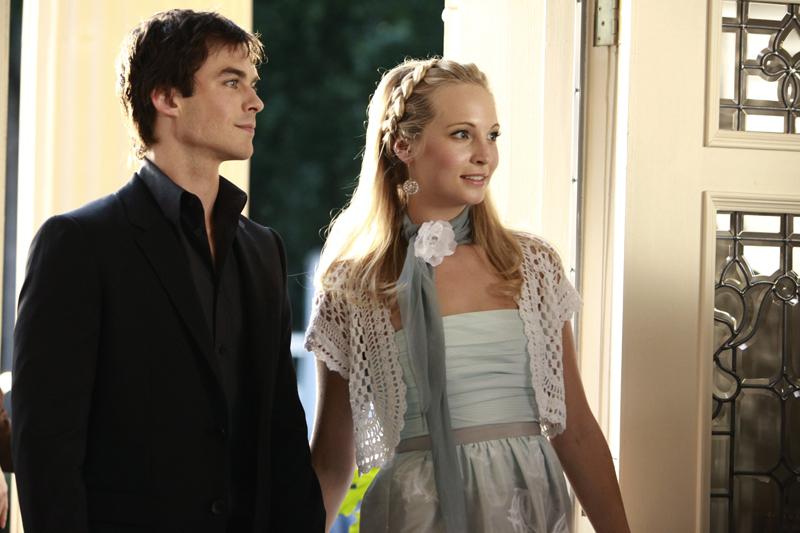 Damon & Caroline at the Founders Tag Celebration