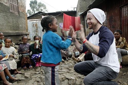 David In Ethiopia (Africa)