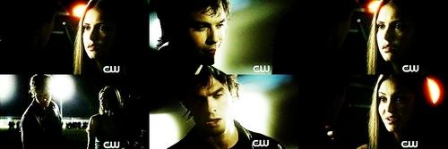 Elena slaps Damon