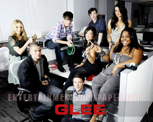 Glee Cast پیپر وال