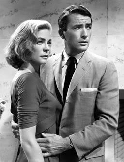 Gregory Peck and Lauren Becall