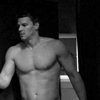 Seeley Booth foto called Half-Naked Booth