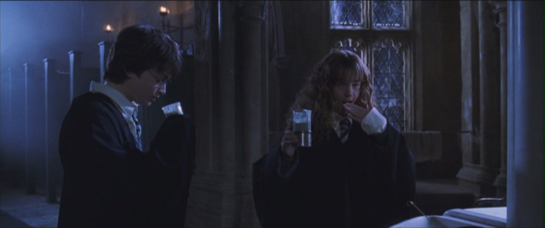Harmony - Chamber of Secrets - Harry and Hermione Image ...