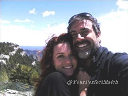 Hilarie and Jeffrey Dean morgan