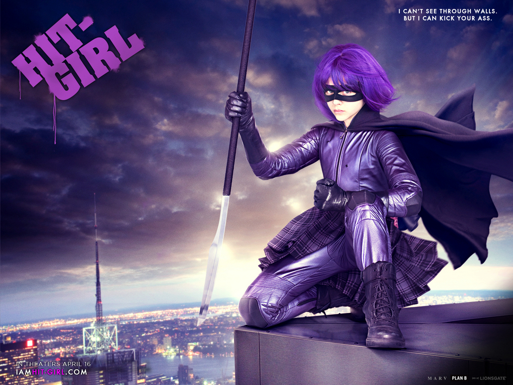 Hit-Girl Official Kick-Ass Wallpaper - Hit-Girl Wallpaper (11694780) -