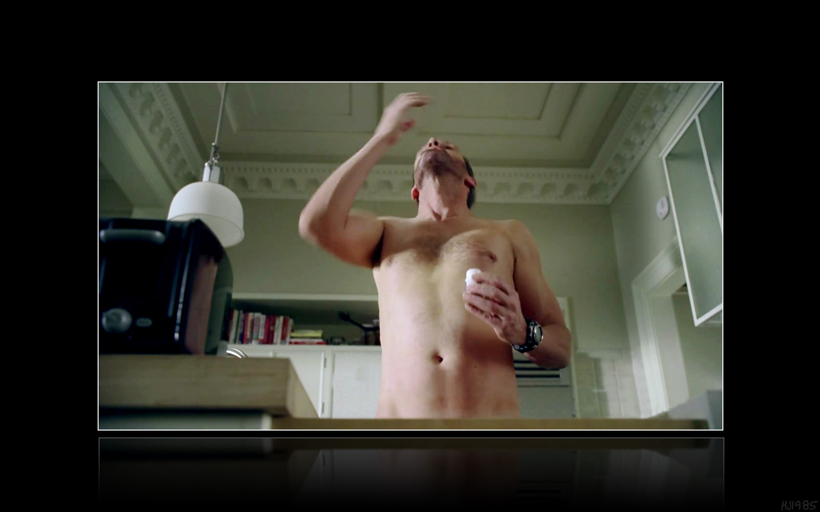 House 'Knight Fall' - naked scene