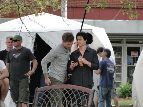 Ian - On Set ♥