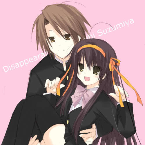 Itsuki and Haruhi in Disappearance