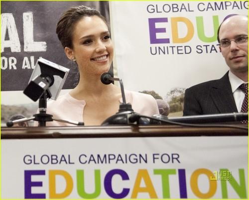 Jessica Alba Has 1GOAL For Children