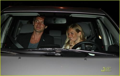 Jude Law & Sienna Miller: Maxfield Mates
