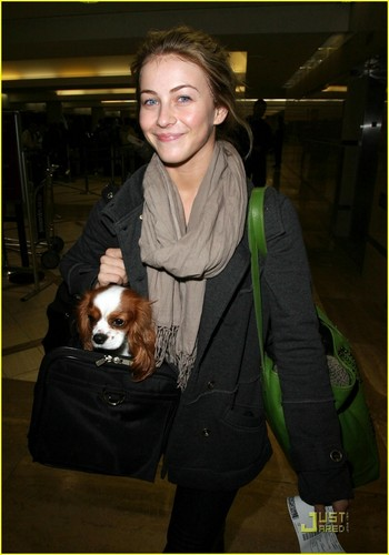 Julianne Hough is a Bag Lady