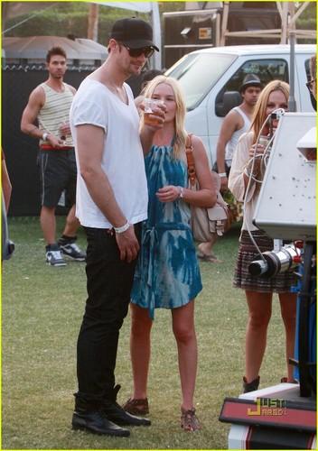 Kate Bosworth: Coachella with Alexander Skarsgard!