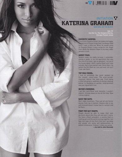 Katerina Graham on Vibe