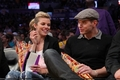 Kellan Lutz and Girlfriend AnnLynne McCord At The Lakers Game - twilight-series photo
