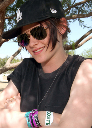 Kristen @ Lacoste Pool Party at Coachella