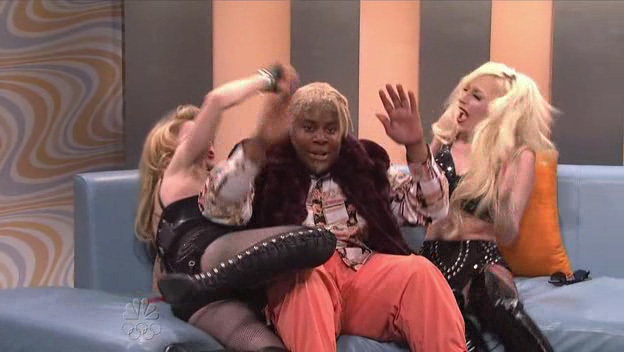"Lady GaGa Live In ""Saturday Night Live"" With Madonna (10/03/09)"