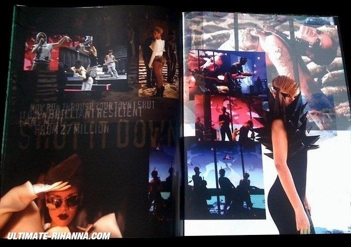 Rihanna Last Girl On Earth Tour Book