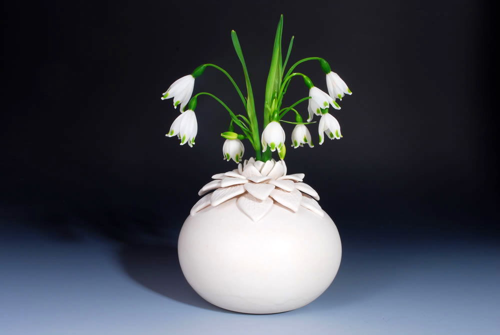 Lotus vase handmade ceramics - Home Decorating Photo (11655745 ...