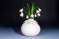 Lotus vase handmade ceramics