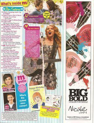 Magazine Scans > 2010 > M Magazine (May 2010)