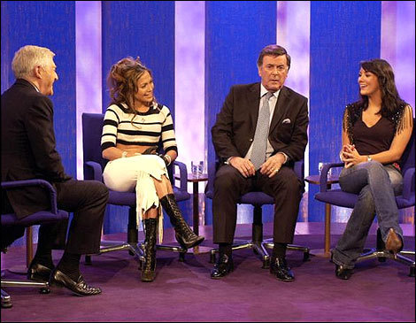 Martine on Parkinson with J.Lo and Terry Wogan
