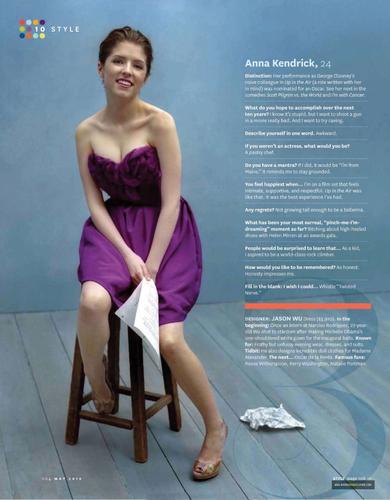 May 2010: O (Oprah) Magazine