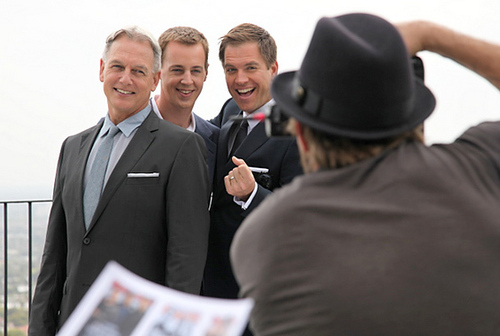 Men of ncis TVGuide Photoshoot