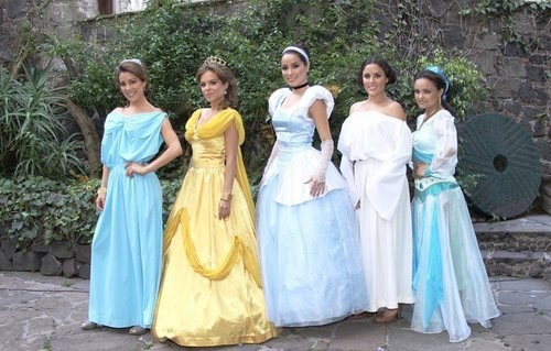 Mexican Disney princesses