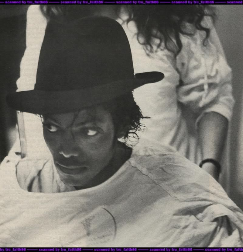 Michael at the hospital :((