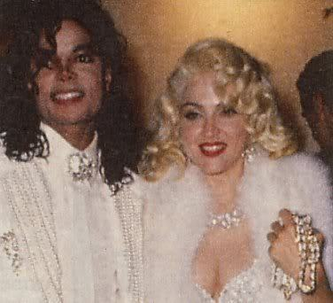 Michael with Madonna - michael-jackson photo