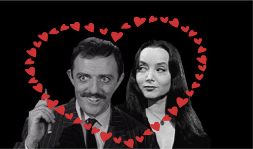 Mr. and Mrs. Addams