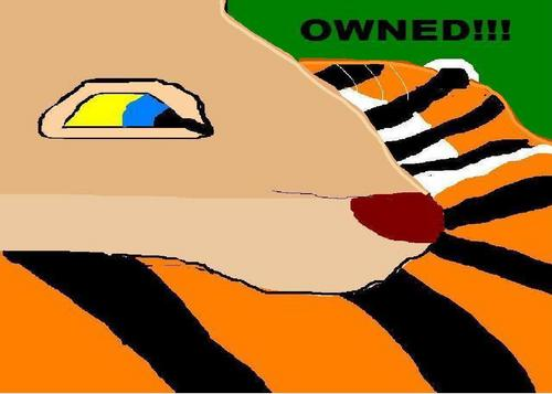 Nala Owning tijgerin, die tigerin