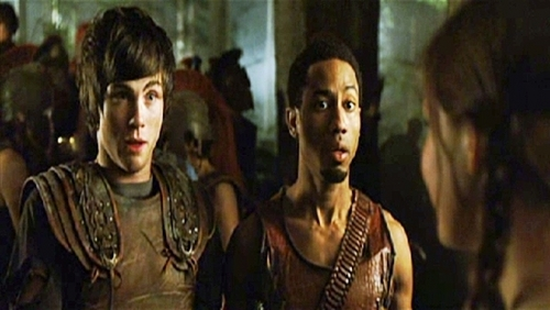 Logan Lerman 壁纸 called Percy Jackson & The Olympians : The Lightning Thief Screen Captures