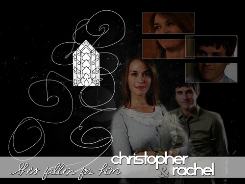 Rachel and Chris वॉलपेपर